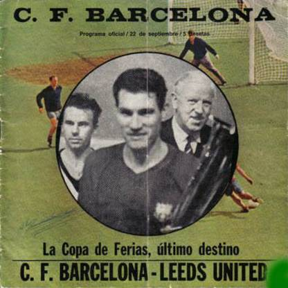 1972 Barcelona FC Barcelona1971-72 Inter-Cities Fairs Cup Playoff 22-9-71 Programme